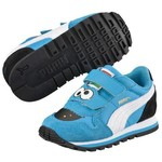 Puma 360825-01 St Runner Sesame Str Blue Çocuk Spor Ayakkabı 3608