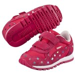 Puma St Runner Dotfetti V Kids Red-Rose Çocuk Spor Ayakkabı 35982