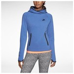 Nike 617186-456 Tech Fleece Funnel Kadın Sweat 617186-456