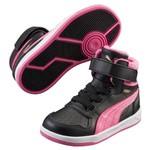 Puma 359075-011 Liza Mid Black-Carmine R Çocuk Spor Ayakkabı 3590
