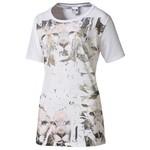 Puma 569038-02 Graphic Tee White Kadın Tişört 569038-02