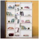 Adore Modern Kitaplık Takımı - Lake Beyaz