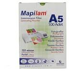 "Mapilam 125 Micron A5 216x155 Mm Parlak Laminasyon Filmi 100""lü"