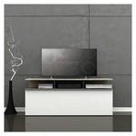 Adore Tvc-529-lb-1 Vision Çekmeceli Tv Sehpası  Latte-parlak Beyaz 117x48x40 Cm