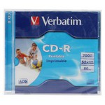 Verbatim Azo CD-R 700MB 52x 80min Printable