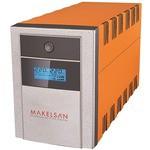 Makelsan Lion Plus 1000VA Line Interactive Ups (Lcd+Usb+Yuasa Akü)