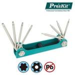Proskit 8pk-021t 8 Parça Anahtar Takımı (t5, T6, T7, T8, T9h, T10h, T15h, T20h)