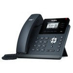 Yealink Sıp-t40p Ip Phone 132x64-pıxel Lcd, 3 Sıp, Poe, Headset, Ehs Support Integrat