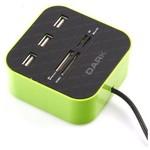 Dark DK-AC-UCR202GN USB 2.0 External 49 in 1 Kart Okuyucu Yeşil