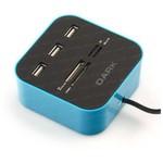 Dark DK-AC-UCR202BL USB 2.0 Multi Kart Okuyucu + 3 x USB 2.0 HUB Mavi