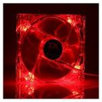 TX 12cm Kasa Fanı - Kırmızı (CCF12RD)