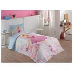 Örtüm Pink Girl Yatak Örtüsü Tek Kisilik Pembe