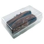 Markasız Saklama Kutusu Erkek Ayakkabı Şeffaf Model 5008