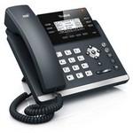 Yealink Sıp-t42g Ip Phone 2.7 Inc 192x64-pıxel Lcd, 2xgıgabıt Ports (poe), 3 Sıp,15 D