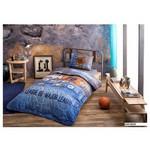 Taç Jeans Yastık Örtüsü Seti - Mavi
