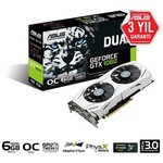 Asus GeForce GTX 1060 Dual OC 6GB Ekran Kartı (90YV09X0-M0NA00)