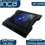 Inca Inc-336dxs Inc-336dxs Led Fanlı Hight Cool Sessiz Usb Notebook Soğutucu Siyah