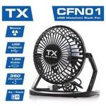TX Acfn01 Masaüstü Mini Usb Fan 360 Derece Hareketli Siyah