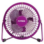 Mack Mcf-14-pr Mcf-14 Pr Masaüstü Metal Usb Mini Fan Mor