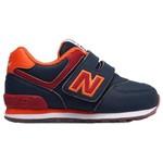 New Balance NB Kids Infant, NAVY/RED, W, 22.5 KV574Z6I
