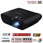 Viewsonic PJD7526W DLP WXGA 1280X800 4000AL 3D HDMI/MHL,RJ-45 22.000:1 Ops. KABLOSUZ