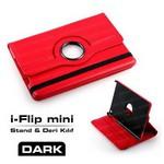 Dark Dk-ac-ıpmkrt1-rd I-flip Kırmızı Ipad Mini 360 Derece Hareketli Yatay / Dikey 3 K