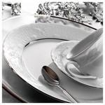 Kütahya Porselen Lalezar 77 Parça Platin Fileli Yemek Takımı