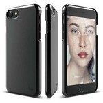 Elago 8809461765815 Apple Iphone 7 Kılıf + Ekran Koruyucu Jet Black