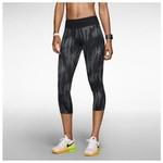 Nike 618449-010 Printed Epic Run Crop Kadın Kapri 618449-010