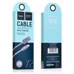 Hoco 6957531032168 Apple Lightning Örme Kablo 100 Cm Koyu Gri