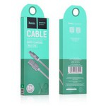 Hoco 6957531032205 Micro Usb Örme Kablo 100 Cm Koyu Gri