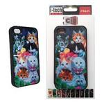 Icatch Inc I-techgear X-617, Iphone 4/4s Uyumlu Üç Boyutlu (3d) Arka Kapak - Kediler