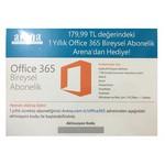 Microsoft Office 365 1 Yıllık Bireysel Abonelik ( Qq2-00521)