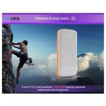 S-Link IP-1012 10000 mAh Powerbank - Beyaz/Turuncu