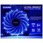 Dark Ultra Bright 15x Mavi LED Kasa Fanı (DKCCFB120B)
