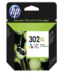 HP F6U67AE 302XL Yüksek Kapasiteli Üç Renkli Kartuş