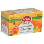 Doğuş Bardak Poşet Çay Ihlamur Ballı Zencefil Aromalı 20 Adet