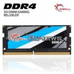 G.Skill Ripjaws 16GB Notebook Bellek (F4-2133C15S-16GRS)