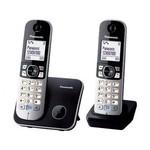 Panasonic Kx-tg6812 Dect Telefon - Siyah/gri