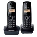 Panasonic Kx-tg1612 Dect Telefon Çift Ahizeli