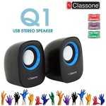 Classone K3001 1+1 Speaker - Siyah - Mavi