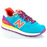 New Balance Wl574Rp  Lifestyle, e/Pu Kadın Spor Ayakkabı WL574RP