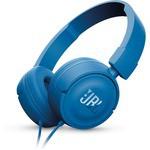 JBL T450 Kulaklık, CT, OE, Mavi