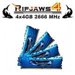 G.Skill Ripjaws4 4x4GB Desktop Bellek (F4-2666C16Q-16GRB)