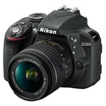 """Nikon 18208946167 Nıkon D3300 18-55 Af-p Non Vr Iı 24.2 Mp 3"""" Lcd Ekra Slr"""