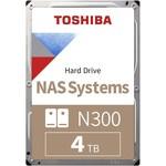 Toshiba N300 4TB NAS Hard Disk (HDWQ140UZSVA)