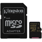 Kingston 64GB Gold UHS-I U3 microSD Kart (SDCG/64GB)