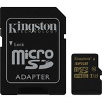 Kingston 32GB Gold UHS-I U3 microSD Kart (SDCG/32GB)