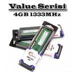 G.Skill Value 4GB Desktop Bellek (F3-10600CL9S-4GBNT)