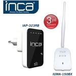 Inca Iap-323rb Iap-323 Rp 300 Mbps Menzıl Genısletıcı +ıuwa-150 Bx Adaptör